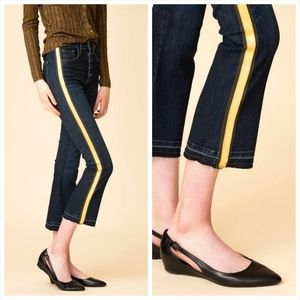 "Veronica Beard Carolyn 10"" Baby Boot Jeans"